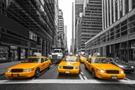 Fototapety taksówki