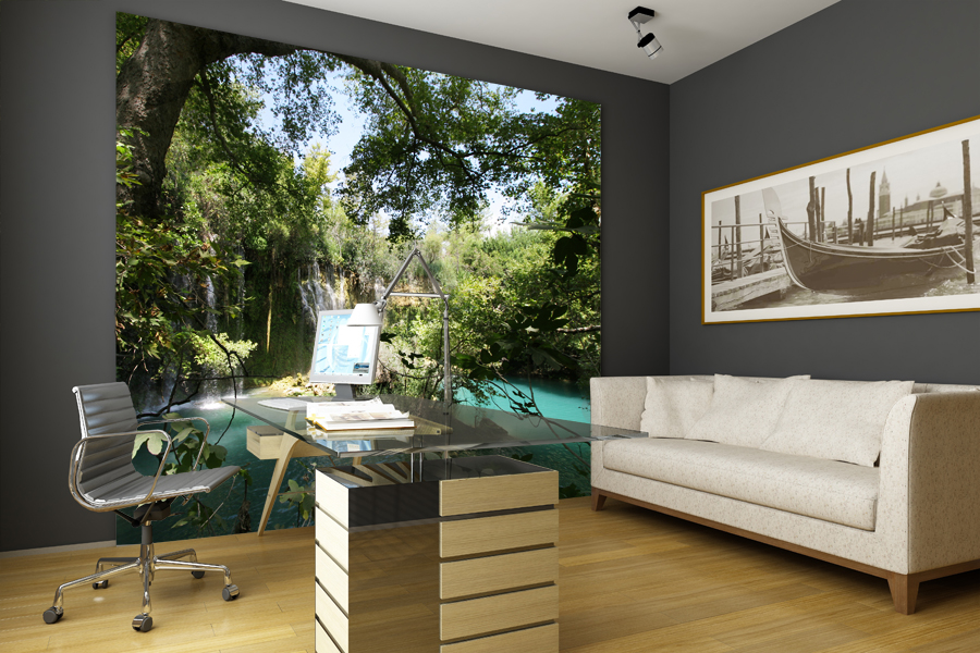Krajobraz na ścianie - galeria