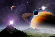 Fototapety Galaktyka