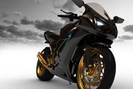 Fototapety Motocykl