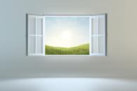 Fototapeta okno