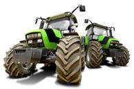 Fototapety traktory